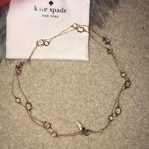 Kate Spade Long Necklace w Box & Bag